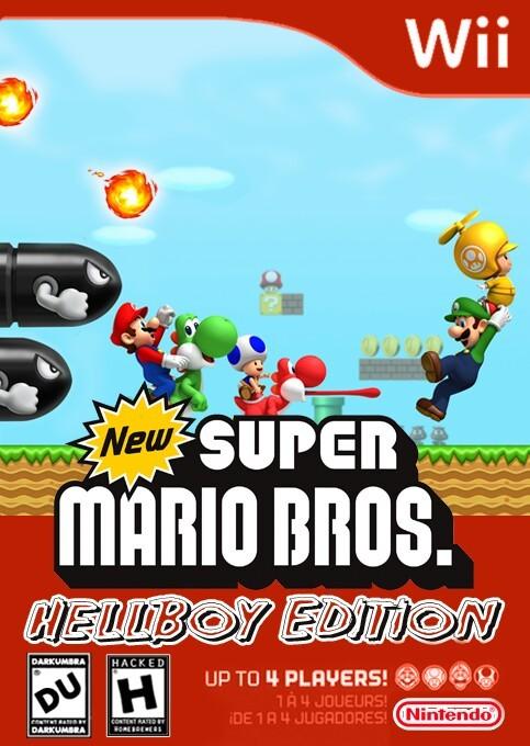 New Super Mario Bros : Hellboy Edition