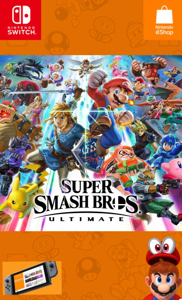 Super Smash Bros. Ultimate [ + Update ] [ + All DLCs ] [ + DLC Unlocker ]