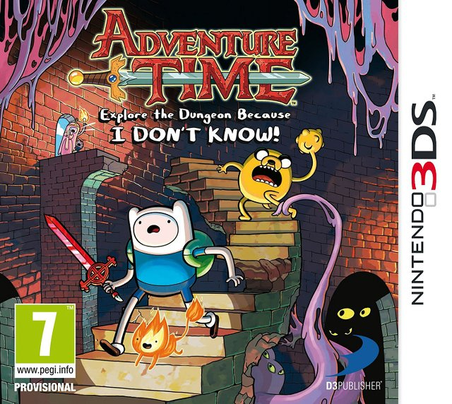 Adventure Time : Explore the Dungeon Because I Don't Know! [CIA]