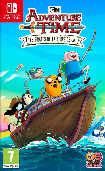 Cartoon Network Adventure Time : Les Pirates de la Terre de Ooo