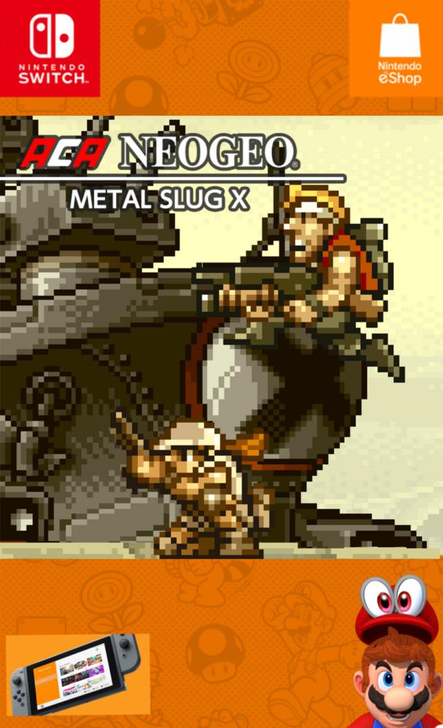 ACA NEOGEO : Metal Slug X