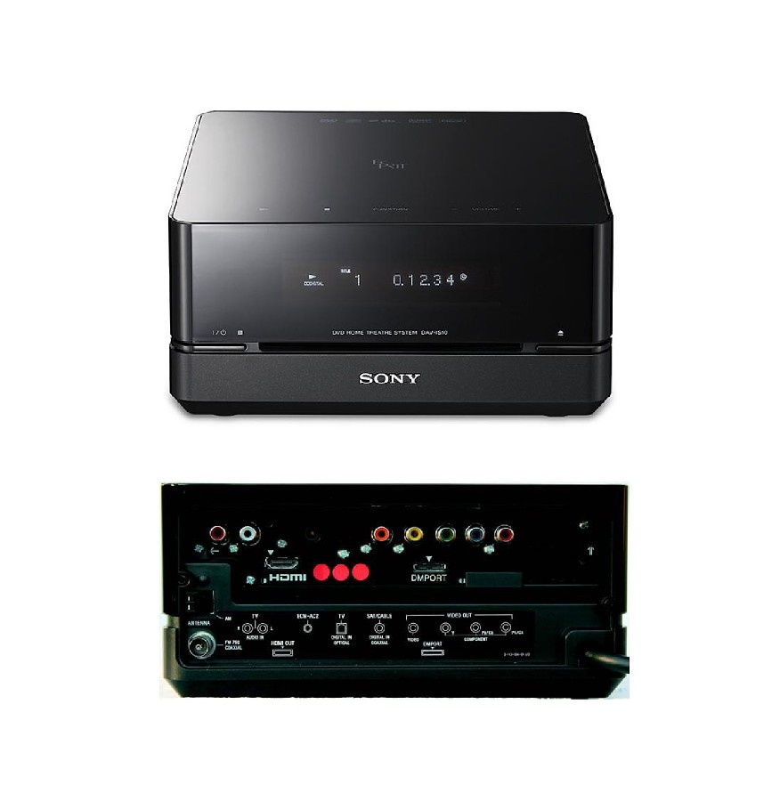 Details about Replacement HCD-IS10 DVD Player Main Unit for Sony HT-IS10  Home Cinema System