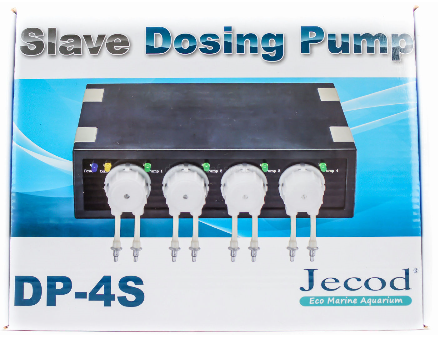 JEBAO/JECOD DP-4S Slave Dosing Pump For Marine Reef Aquarium Automatic