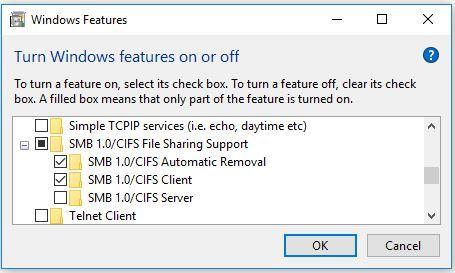 Going insane with filesharing on Windows 10 1803 | guru3D Forums