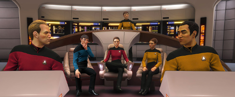 StarTrek: Bridge Crew - The Next Generation