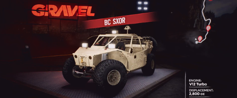 Gravel: Armored Operation DLC