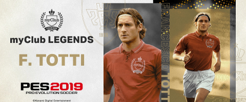 myClub Legend Francesco Totti