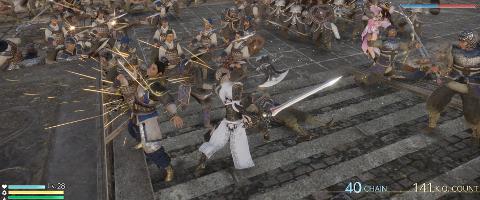 Dynasty Warriors 9 co-op