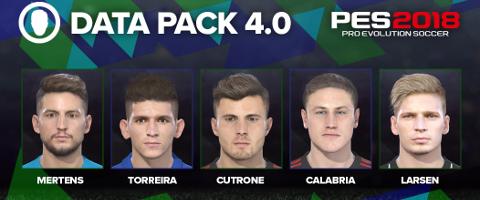 PES 2018 Data Pack 4.0