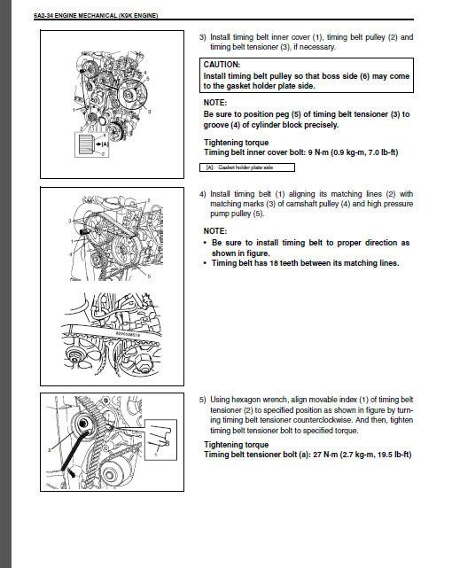 Suzuki Service Manual Jimny Baleno Gran Vitara Ignis Liana Samurai Swift Wagon R