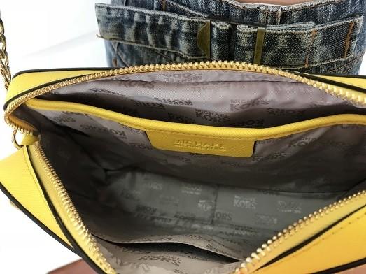 50efc67fa7662 ... germany large crossbody shoulder bag yellow. michael kors citrus yellow  saffiano leather ecd93 02764