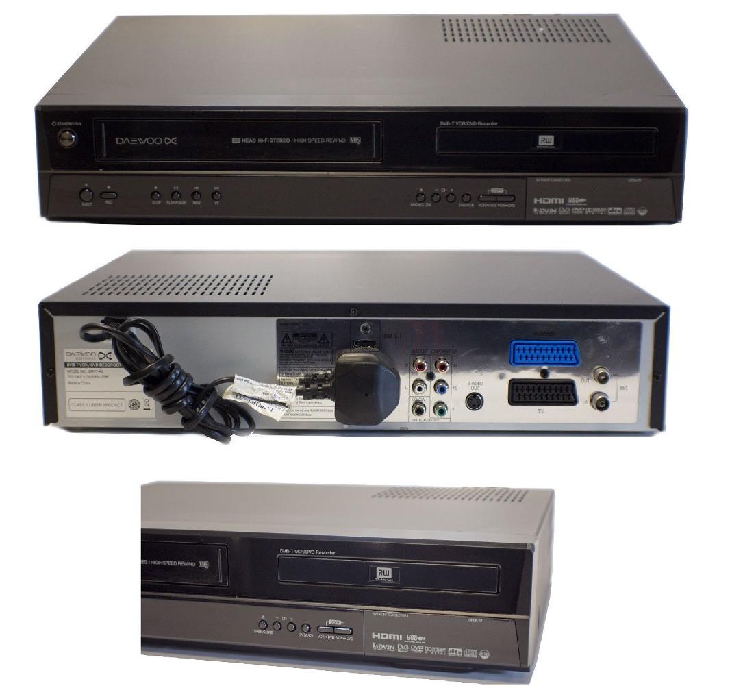Daewoo vhs Dvd Recorder Manual