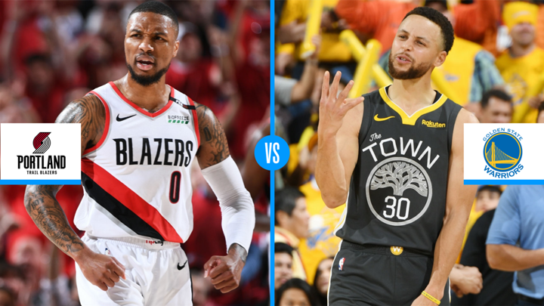 NBA Western Conference Golden State Warriors Portland