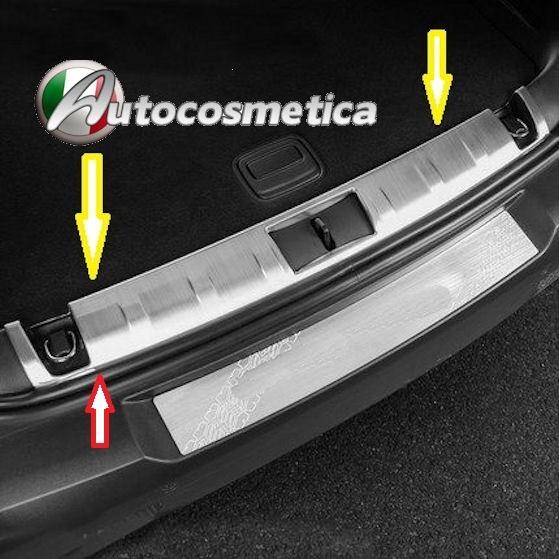 Battivaligia Protezione Soglia Vano Portabagagli Acciaio Hyundai Tucson 2015/>