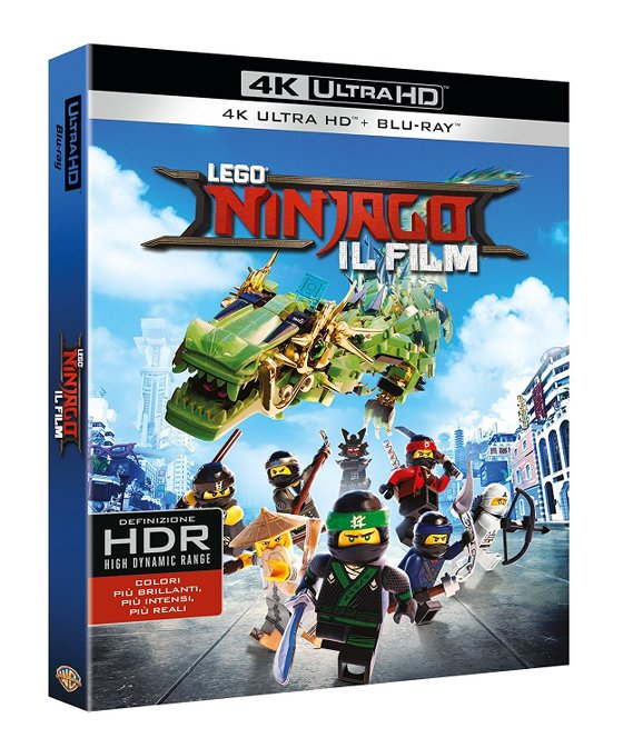 lego ninjago movie 4k