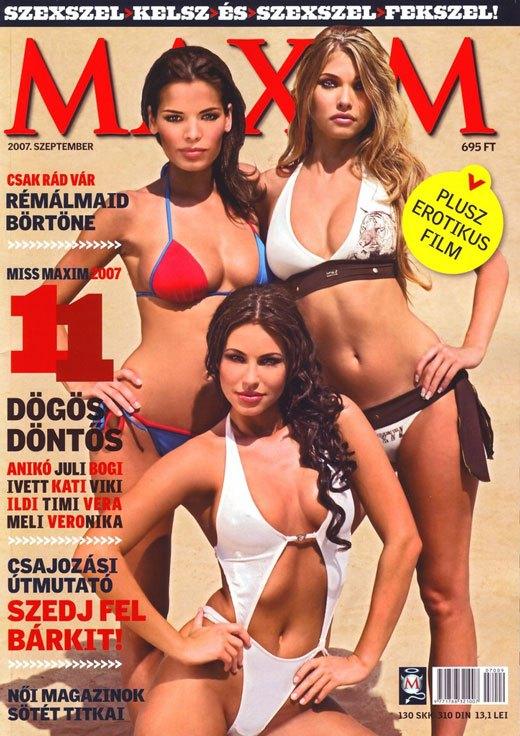 Maxim Magazine Hungary