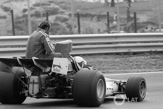 GP da Holanda de 1973: o suiço Clay Regazzoni e o inglês Mike Hailwood