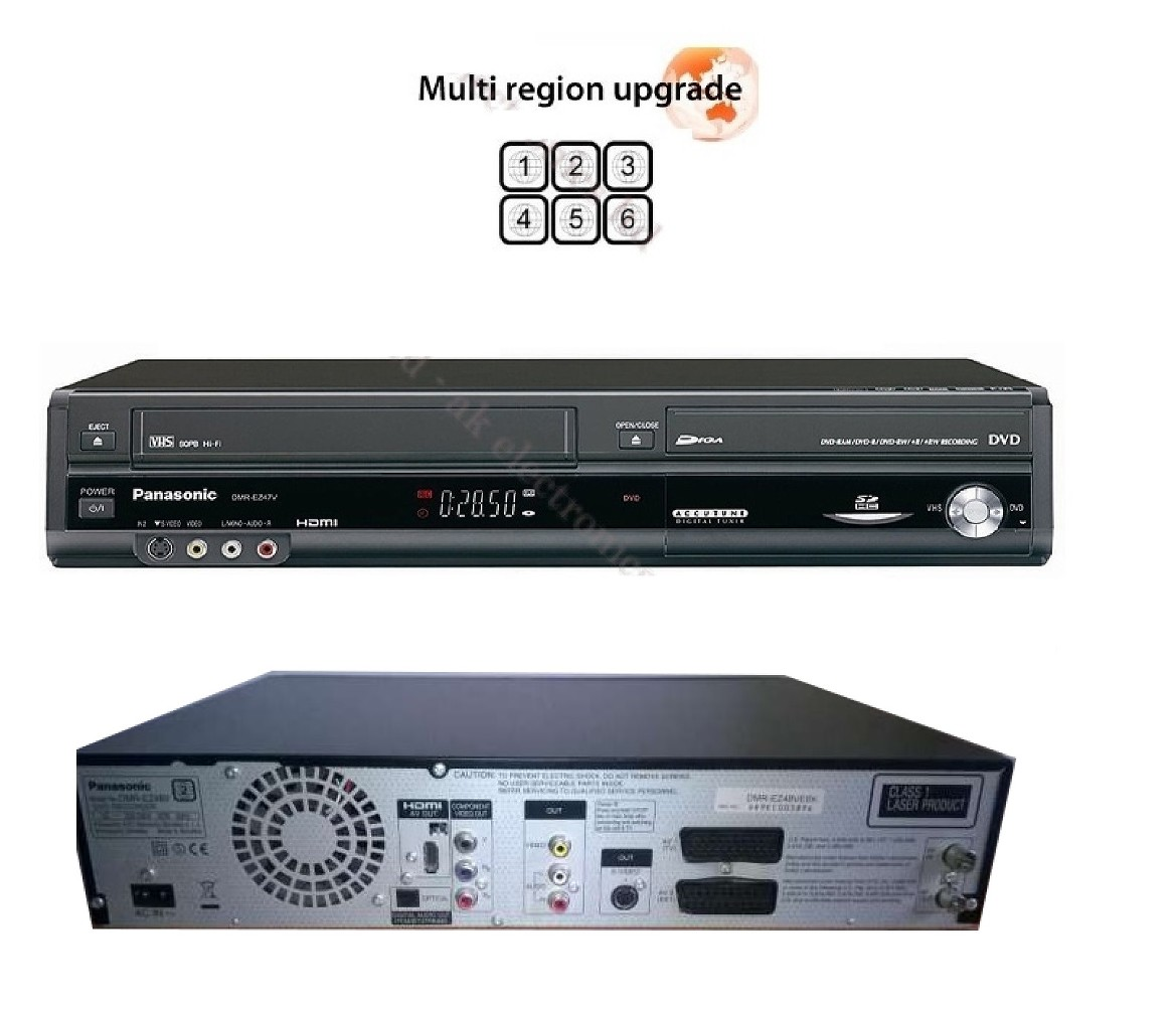 DVD Recorder / VCR Combination with Digital Tuner