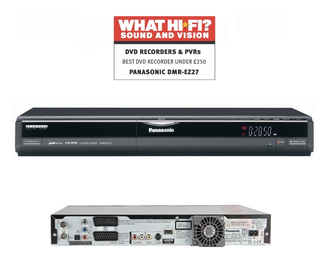 panasonic multiregion dmr ez27 dvd recorder freeview hdmi digital rh ebay ie Panasonic DVD Recorder DMR- EZ48V panasonic dvd recorder dmr ez27 manual