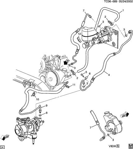 how to remove  replace power steering pump chevy and gmc 2005 gmc sierra 1500 power steering hose 2005 gmc sierra 1500 power steering hose 2005 gmc sierra 1500 power steering hose 2005 gmc sierra 1500 power steering hose