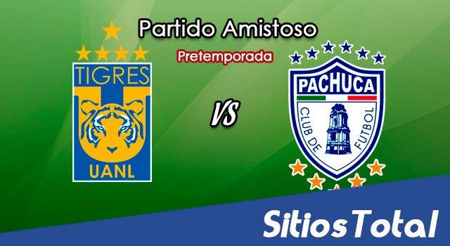 Tigres vs Pachuca en Vivo – Partido Amistoso – Domingo 8 de Julio del 2018