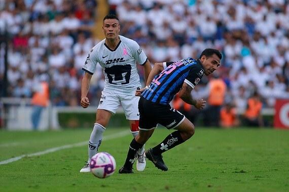 Resultado Querétaro vs Pumas -Jornada 15- Apertura  2019