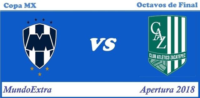 Monterrey vs Zacatepec – Copa MX – Transmisión por TV, fecha y hora