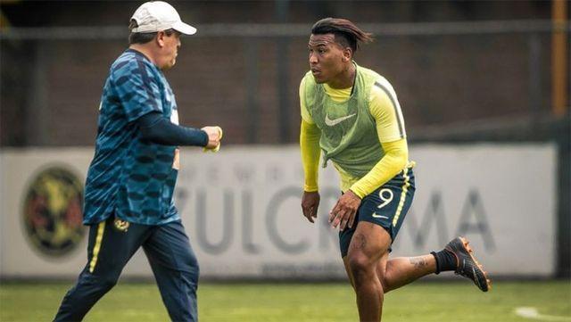 Roger Martínez ansioso por debutar en la Liga MX con América