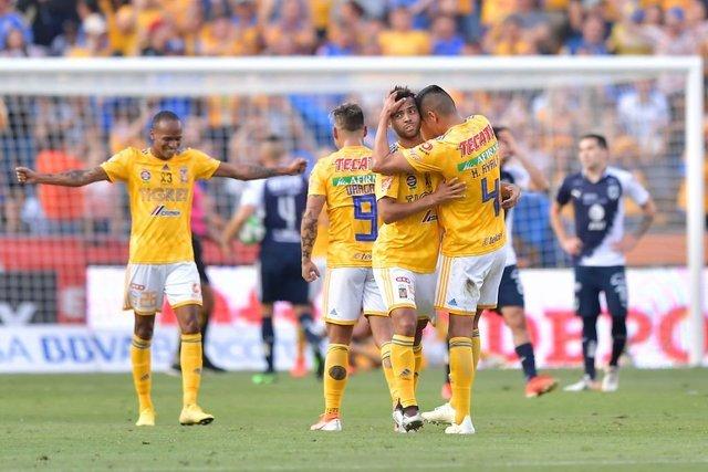 Resultado Tigres vs Monterrey Semifinal  de Clausura 2019