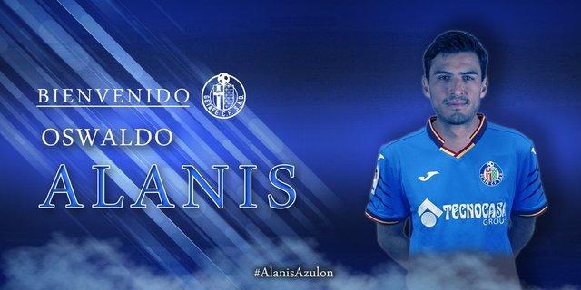 Oswaldo Alanís nuevo futbolista del  Getafe