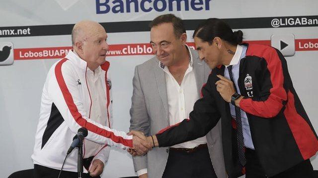 Lobos BUAP presentan a Presidente Deportivo y técnico
