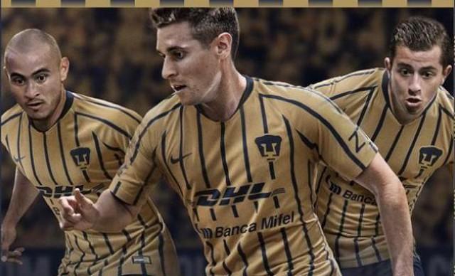 Pumas va con segundo uniforme ante Monterrey