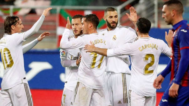Resultado Eibar vs Real Madrid – J13 – La Liga