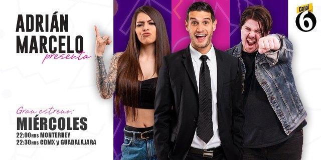 Adrián Marcelo Presenta en Vivo – Miércoles 16 de Septiembre del 2020