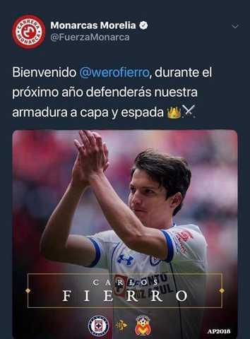 Monarca anunció a Carlos Fierro y Felipe Mora, pero siempre no
