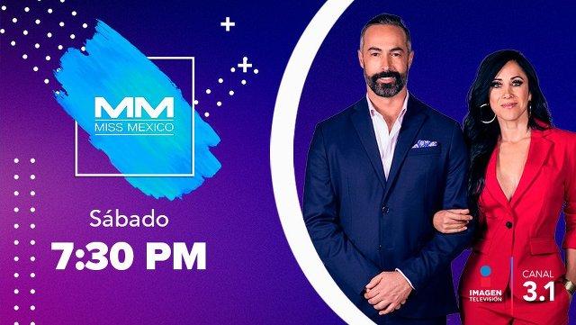 Miss México 2019 en Vivo – Sábado 21 de Septiembre del 2019