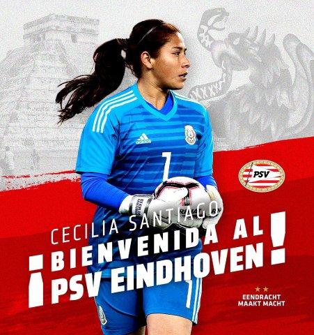 PSV confirma fichaje de Cecilia Santiago proveniente del América