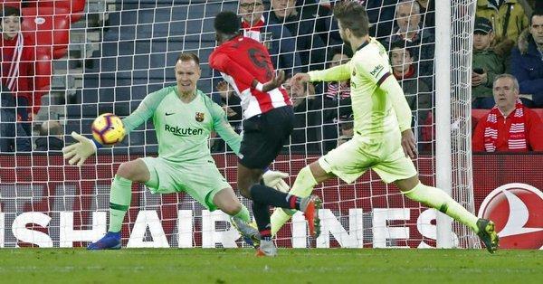 Resultado  Athletic de Bilbao vs Barcelona  -J23- La Liga