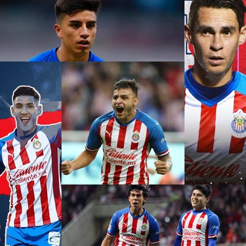Estos son los jugadores mas valiosos de Chivas según Transfermarkt