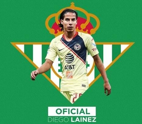 Diego Lainez es nuevo jugador del Real Betis ¡Oficial!