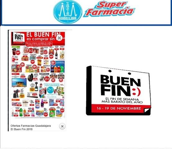Ofertas Farmacias Guadalajara El Buen Fin 2018