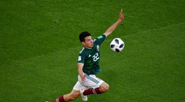 Hirving Lozano mencionado  como  «jugador revelación»  en «The Best»