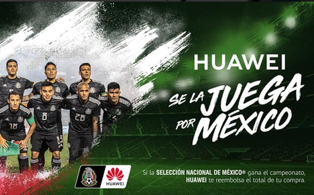 Huawei apoya a México en la Copa de Oro y te invita a apostar