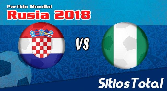 Repetición Croacia vs Nigeria – Mundial Rusia 2018 – Completo, Online y Gratis!