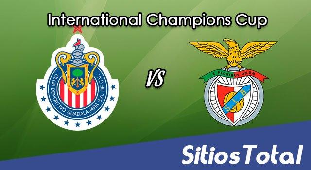 Chivas vs Benfica en Vivo – International Champions Cup – Sábado 20 de Julio del 2019