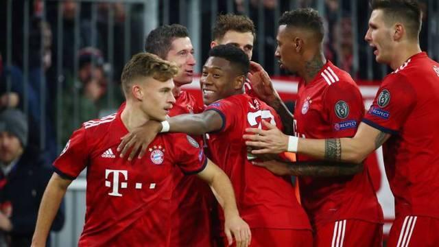 Resultado del Bayern Munich vs Benfica – Fase Grupos – Champions League
