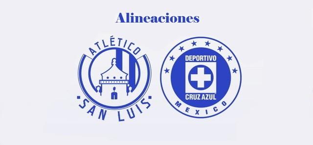 Alineación Oficial de Atlético San Luis vs Cruz Azul – J3- Clausura 2020