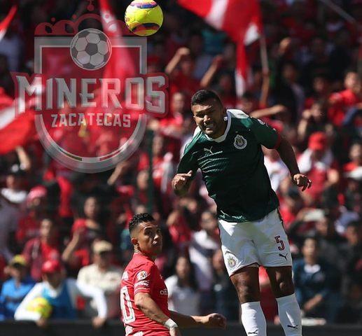 Chivas prestó a Hedgardo Marín a Mineros de Zacatecas