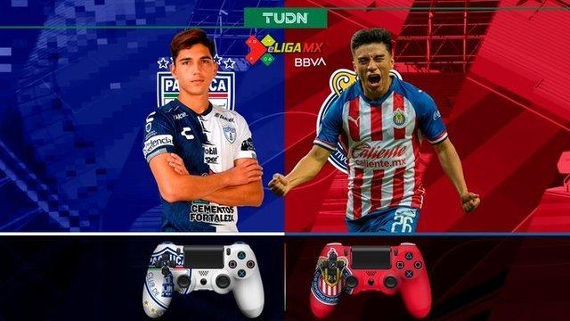 Resultado Pachuca vs Chivas  -J2- eLiga MX FIFA 20