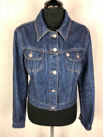GUESS U.S.A. Giubbotto Jeans Donna Denim Woman Jacket Sz.S 42 | eBay